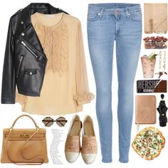 1805. It's my birthday ... by chocolatepumma on Polyvore featuring polyvore fashion style Chloé 7 For All Mankind Chanel Hermès Forever 21 Alexander McQueen Illesteva Crate and Barrel Armand Diradourian Kate Spade John-Richard Margarita