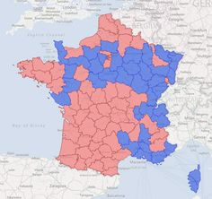 2012 French Presidential Election : map of the final results on #ArcGIS Online
