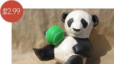 Playful Paper Mache Panda You Can Make