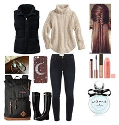 """""""MyStyle"""" by mimimoon95 on Polyvore featuring Frame Denim, Lands' End, Hunter, JanSport, Burt's Bees and Kate Spade"""