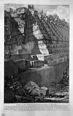 The Roman antiquities, t. 4, Plate XXXII. Following the above table. - Giovanni Battista Piranesi