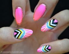 #pink #nails