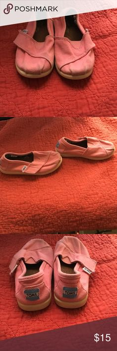 Toms Size 9.5 toddler Shoes