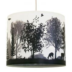 anna lampe - Lampenschirm Quiet Revolution -   Ein toller Lampenschirm mit einem Wald Motiv