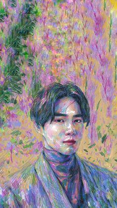 SUHO The mini album Self-Portrait Exo wallpaper Suho Kim Junmyeon # # # Portrait Mini Albums, Exo Lockscreen, Christmas Preparation, Kim Junmyeon, Suho Exo, K Idol, Love Wallpaper, Portrait, Cute Wallpapers