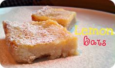 Life's Simple Measures: Lemon Bars
