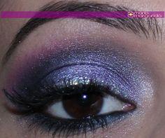Make com Glau Arruda – Tutorial Sombra Lilás para Inverno