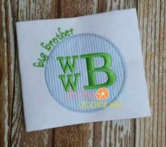 Design Categories - Sister & Brother Designs - Baby Kay's Appliques