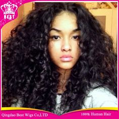 78.18$  Buy here - http://aliqaw.worldwells.pw/go.php?t=2020891579 - Hot Human Lace Front Wig For Black Women,Virgin Brazilian Curly Lace Wig With Baby Hair,Glueless Full Lace Human Hair Wigs Curly 78.18$