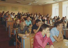 Лекція для першокурсників щодо користування бібліотекою (2017-2018 навчальний рік).