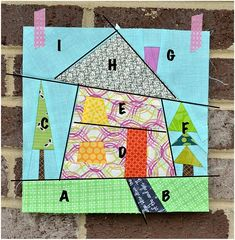 wonky fabric house patterns | visit sewcraftyjess blogspot com