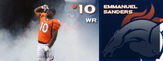 Emmanuel Sanders | Emmanuel Sanders Emmanuel Sanders, Injury Report, Wide Receiver, Denver Broncos, Baseball Cards, Sports, Hs Sports, Sport