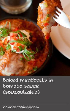 This recipe for beautifully spiced and baked Greek meatballs is delicious. Cooked in a rich tomato sauce they make a great Winter meal. At the restaurant, David serves this dish in individual dishes. Asian Fish Recipes, Tilapia Fish Recipes, Recipes With Fish Sauce, Whole30 Fish Recipes, Easy Fish Recipes, Greek Fish Recipe, Greek Recipes, Tasty Meatballs, Greek Meatballs