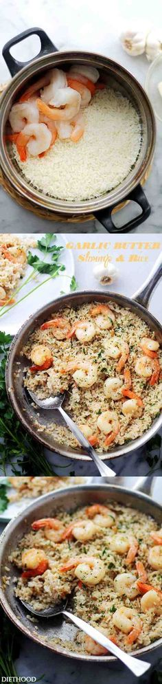 Garlic Butter lends an amazing flavor to this speedy and incredibly delicious meal with Shrimp and Rice. Garlic Buttah! Like …