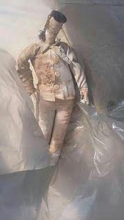 São Sebastião do Umbuzeiro a Vista: MACUMBA? Boneco é encontrado enterrado em Catingue...