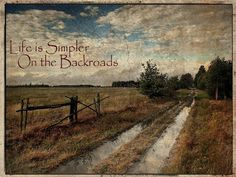 Backroads :)