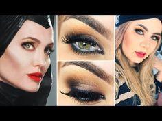 Maquiagem inspirada na Malévola Angelina Jolie - Maleficent Makeup