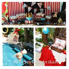 Pirate Party Birthday Party Ideas | Photo 3 of 7 | Catch My Party