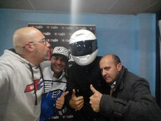 Equipo de radio con Ramon Codina