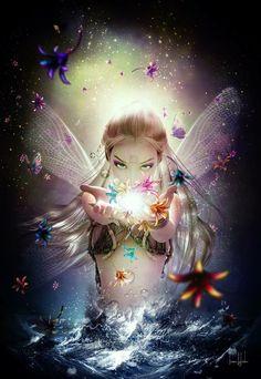 *+*Mystickal Faerie Folke*+* ...By Artist Unknown...