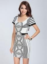 Black And White Jacquard Bandage Dress H492$119. You can get our one free gift(sweater,dress,leggings,outwear and so on) when your order is over $119,during the Valentines Day,you can get $5 off vouchers in my site :www.udobuy.com