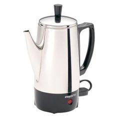 Presto - 6 Cup Coffee Percolator SS