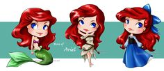 Ariel by sky-illuminated on DeviantArt Disney Little Mermaids, Ariel The Little Mermaid, Baby Disney, Disney Love, Disney Fairies, Disney Stuff, Disney Princesses And Princes, Disney Princess Art, Disney Fan Art