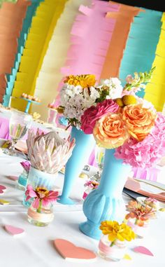 Cheery and Colorful Baby Love Themed Baby Shower