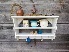 Shabby, Shelves, Etsy, Home Decor, Custom Cars, Make It Happen, Timber Wood, Colors, Shelving