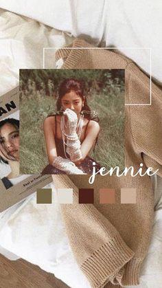 She is perfect 💜 Pink Wallpaper, Iphone Wallpaper, Editing Pictures, Photo Editing, Aesthetic Lockscreens, Jennie Kim Blackpink, Rose Park, Illustration Girl, Kpop Fanart