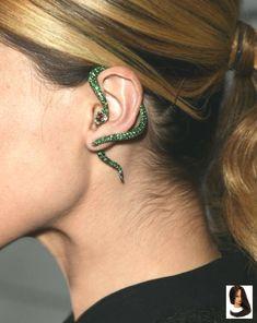 vintage rétro piercing nombril téton sein serpent mode original bonne qualité GF