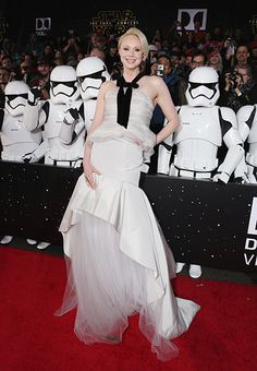 See All the Red Carpet Look at the 'Star Wars: The Force Awakens' World Premiere | Gwendoline Christie | EW.com