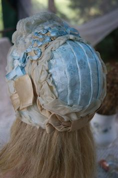 Nice Bonnet For Antique Bisque French or German Doll