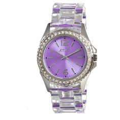 Take a look at this Jet Set Purple Candy Watch by Jet Set on today! How To Have Style, My Style, Candy Watch, Candy Lady, Purple Candy, Cute Watches, All Things Purple, Purple Stuff, Purple Jewelry