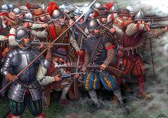 """""""Batalla de Jemmingen, 21 de julio de 1568"""", Ángel García Pinto"""