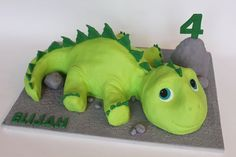 Risultati immagini per dinosaur pictures for kids 3 Year Old Birthday Cake, Birthday Cakes For Women, Third Birthday, Boy Birthday, Birthday Ideas, Dinosaur Cakes For Boys, Dinosaur Birthday Cakes, Dinosaur Party, Dinosaur Cookies