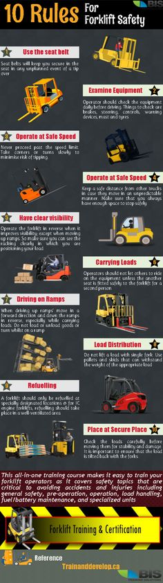 Forklift Safety Training #workplace #workatheight #safetytraining