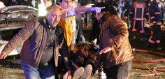 Au moins 36 personnes sont mortes dansun attentat en plein cœur d'Ankara, qui n'a pas encore été revendiqué. 13/03/16