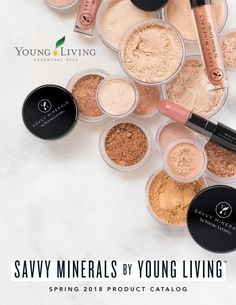2018 Savvy Minerals by Young Living Product Catalog To order click here: https://www.youngliving.com/vo/#/signup/new-start?sponsorid=12646231&enrollerid=12646231&isocountrycode=US&culture=en-US&type=member