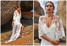 Grace Loves Lace: Vestidos de novia con aires playeros, muy sensuales y femeninos