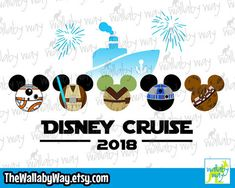 Star Wars Mickey Heads - Disney Cruise Shirt Design or Clipart Mickey Head, Disney Star Wars, Disney Cruise, Shirt Designs, Clip Art, Kids Rugs, Messages, Stars, Etsy