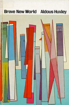 "Aldous Huxley - Brave New World, 1963 edition / Cover: ""Waiting,"" by Attilio Salemme, 1946"