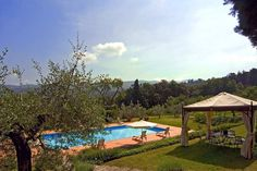 VILLA BORGHINI près d'Arezzo en Toscane. 18 personnes http://www.destination-italie.net/appartement-location-italie-1383.html
