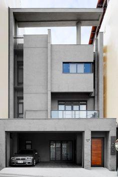자유로움을 느껴보자. 비움의 미학을 담은 모던 주택 (출처 Juryeong Kuhn)