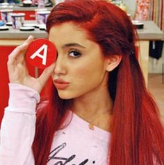Ariana Grande 😍🌙💓👑 shared by ArianaaGrande on We Heart It Ariana Grande Victorious, Victorious Cat, Ariana Grande Cat, Cat Valentine Victorious, Ariana Grande Pictures, Victorious Nickelodeon, Sam E Cat, Adriana Grande, Mtv Videos