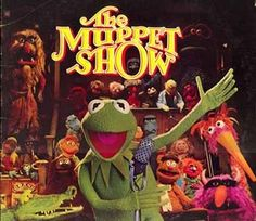 Kermit - back stage at The Muppet Theater
