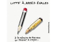 L'hommage de la demeure du chaos et de Thierry Erhmann, PDG d'Artprice, à Charlie Hebdo.