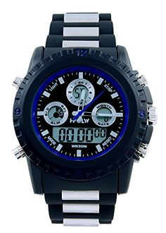 Hpolw Men's Sport Watch with Black and Silver Belt (Blue) HPOLW http://www.amazon.com/dp/B00W96C1TQ/ref=cm_sw_r_pi_dp_JatEvb1G79SZP