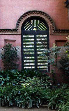 'In the Greenhouse' Umbracle del Parc de la Ciutadella, Barcelona  More photos on www.vise.pictures  #greenhouse #pictures #Barcelona #brickwall #nostalgia #original #originalphotography #plants #travel #travelphotography #photo #photography #green #pink #windowPhoto