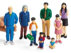 AmazonSmile: Lakeshore Pretend and Play People - Asian Family: Toys & Games